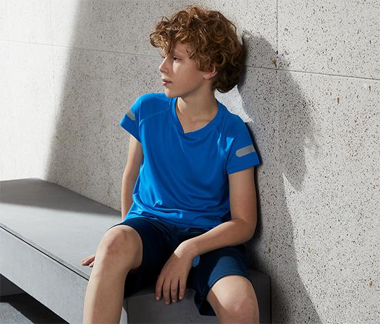 Dětské funkční triko z recyklovaného materiálu