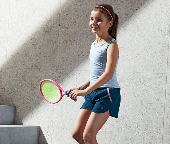 Dětské sportovní šortky z recyklovaného materiálu