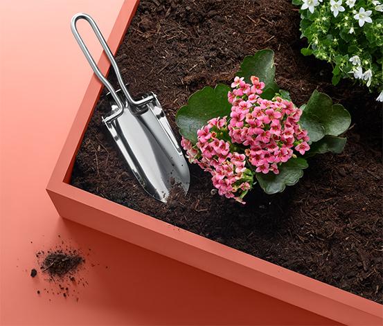 Zahradnická lopatka, sklápěcí