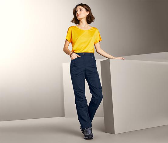 Funkční kalhoty s odepínacími nohavicemi na zip