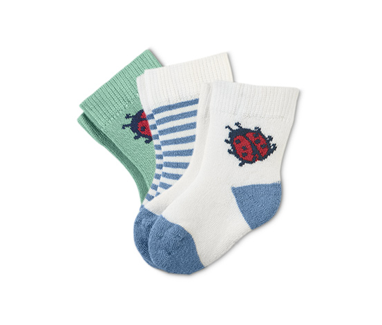 Dětské froté ponožky, 3 páry