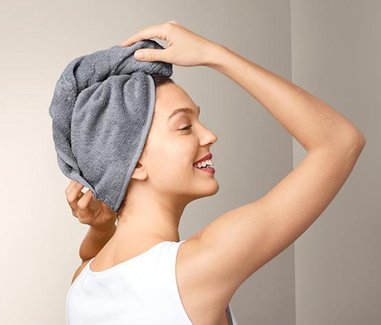 Ručníkový turban