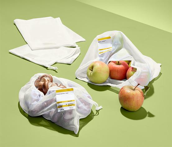 Sáčky na ovoce a zeleninu, 4 ks