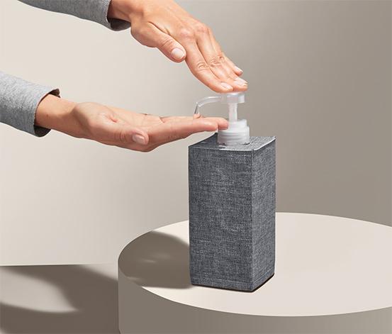 Box na dezinfekční prostředek