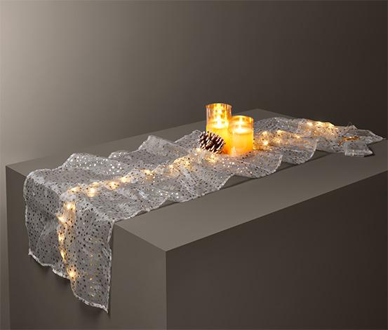 Běhoun na stůl s LED