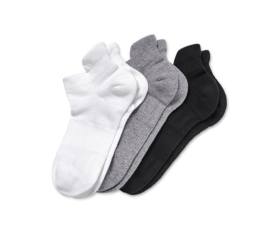 Sportovní krátké ponožky, 3 páry