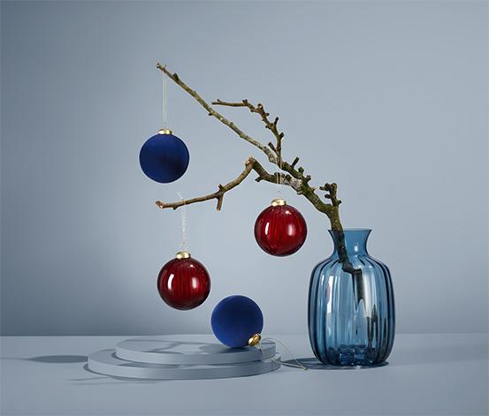 Koule na vánoční stromeček, 4 ks