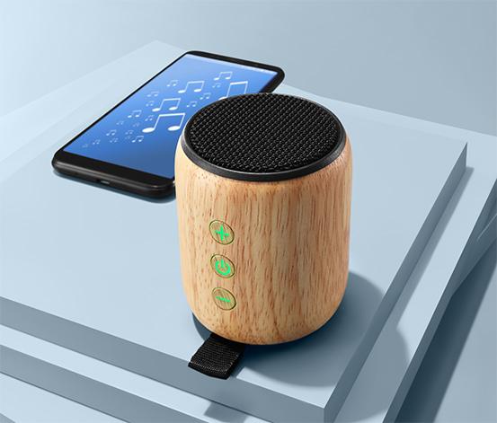 Bambusový reproduktor s Bluetooth®