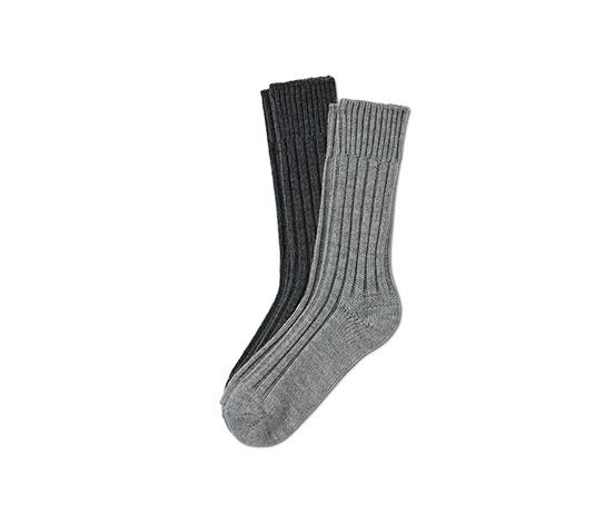 Pletené ponožky, 2 páry