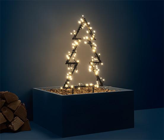 Venkovní stromeček s LED, malý