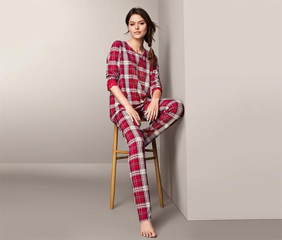 Pyžamo s krajkovým lemem