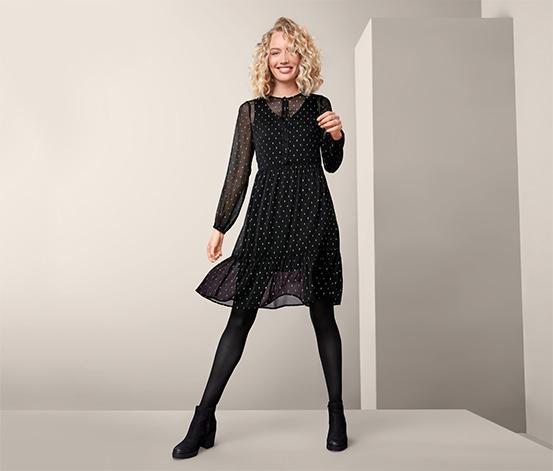Šaty s efektní přízí