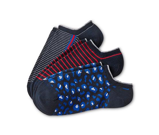 Ponožky do bot sneaker, 3 páry