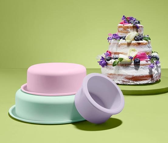 Sada forem na pečení patrových dortů