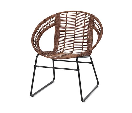 Židle z polyratanu