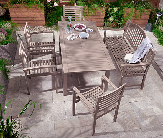 Zahradní židle, vintage grey