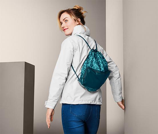 Nákupní taška a batoh, 2 v 1