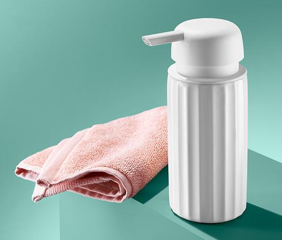 Keramický dávkovač mýdla, bílý