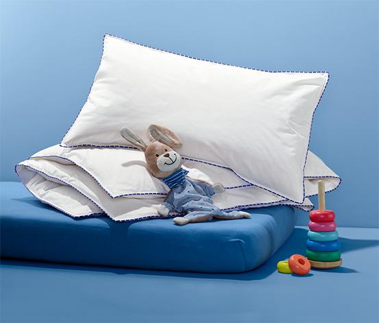 Dětský péřový polštář a prošívaná přikrývka irisette®, cca 100 x 135 cm