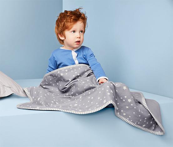 Hebká dětská žerzejová deka