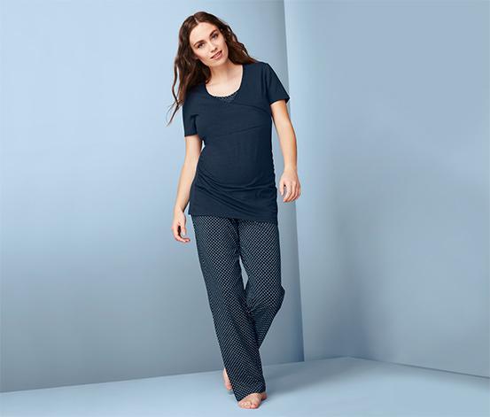 Těhotenské a kojicí pyžamo