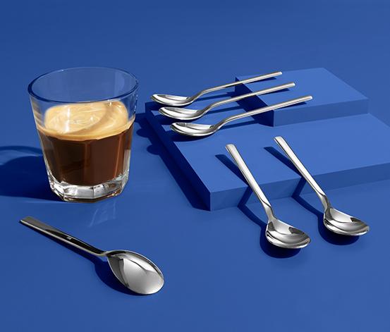 Kávové lžičky, 6 ks