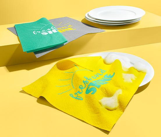 Hadříky na mytí nádobí a úklid, 3 ks