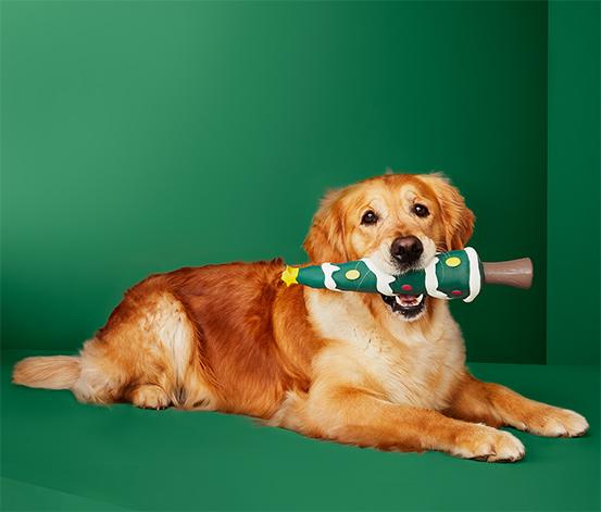 """Hračka pro psy """"Vánoční stromeček"""""""