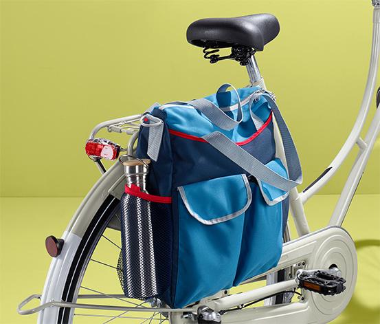 Taška na kolo a přes rameno