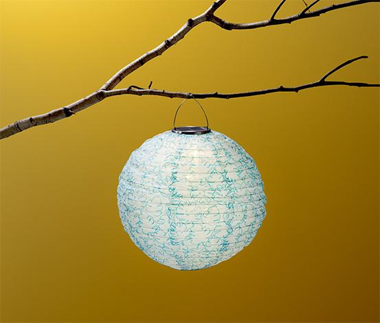 Solární lampion, koule
