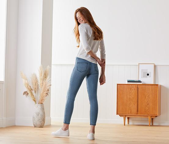 Skinny džíny v délce po kotníky