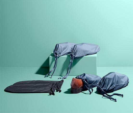 Cestovní pytle na boty a prádlo, 6 ks