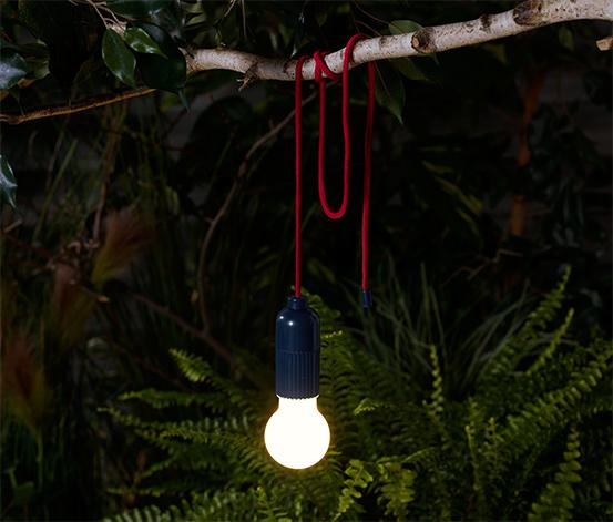 LED lampička s karabinkou