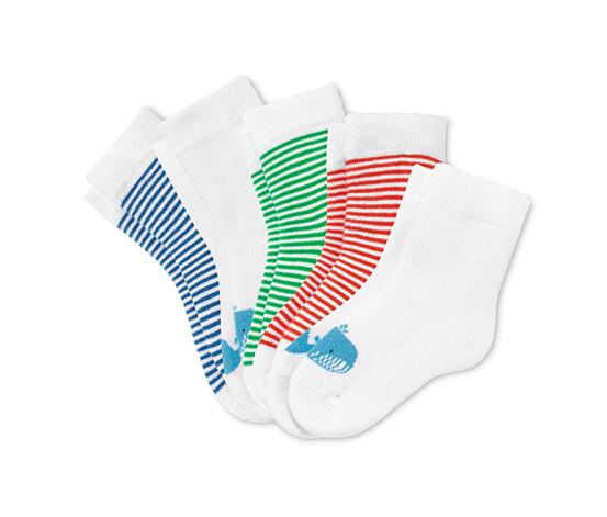Dětské froté ponožky, 5 ks