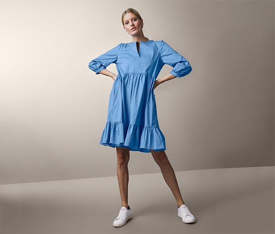 Popelínové šaty