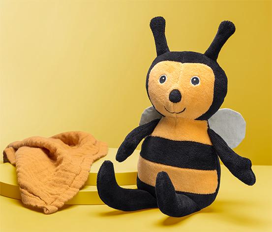 Plyšová včelka
