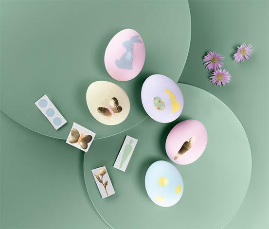 Nálepky na velikonoční vajíčka