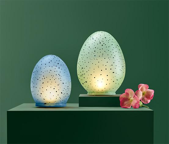 Dekorační vajíčka s LED, 2 ks