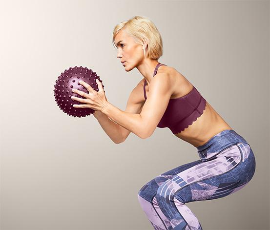 Míček na cvičení a masírování