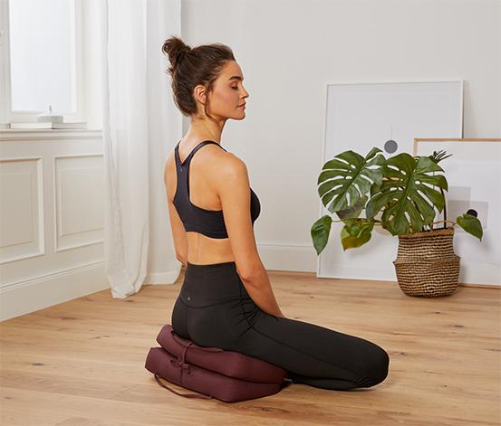 Skládací meditační polštářek