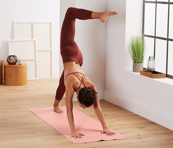 Skládací podložka na jógu