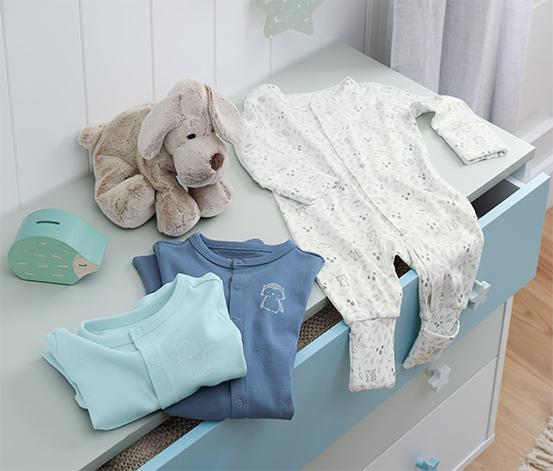 Bavlněná pyžamka, 3 ks