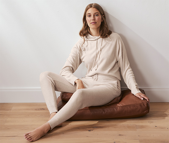 Teplákové kalhoty z pleteniny