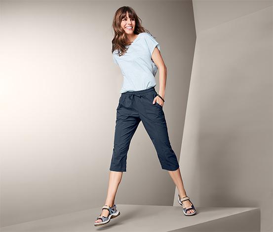Softshellové funkční capri kalhoty