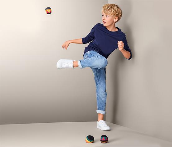 Žonglovací míčky hakisak, 3 ks
