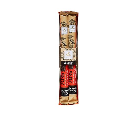 Čokoládové tyčinky z pravé hořké čokolády (kakao: min. 70 %)