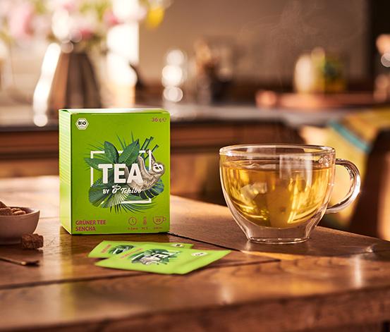 Bio Zelený čaj Sencha – 8 x 20 nálevových sáčků