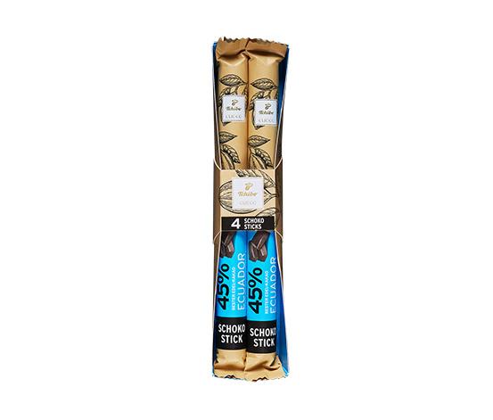 Tyčinky z čokolády z plnotučného mléka (kakao: min. 45 %)