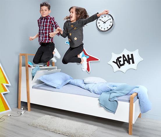 Dětská postel s úložným prostorem, cca 90 x 200 cm