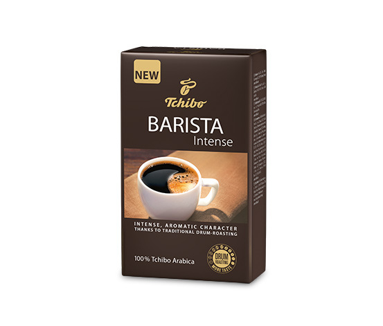 Tchibo Barista Intense - pražená mletá káva